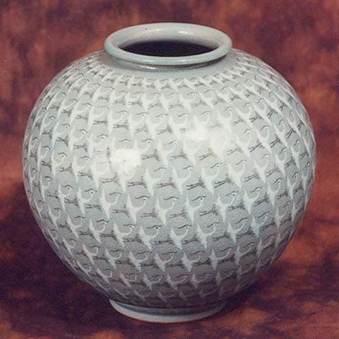 Thousand Cranes Vase Korea Vase And Cellar Image Avorcor