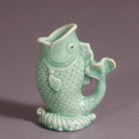 Fish Shaped Vase
