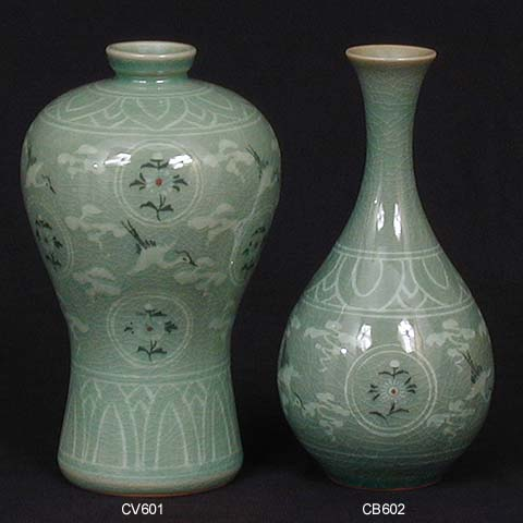 Korean Vase Antique Vase And Cellar Image Avorcor