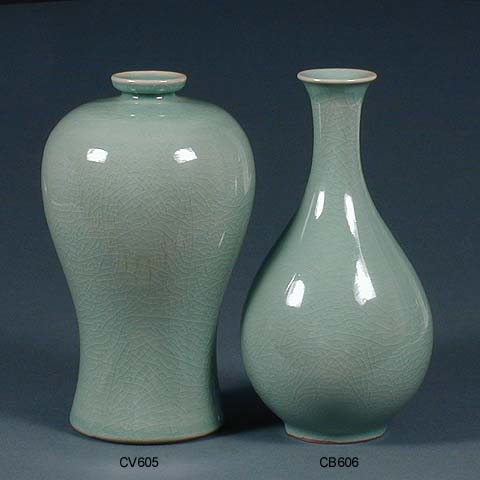 Mu Ji Plain Vase Amp Bottle