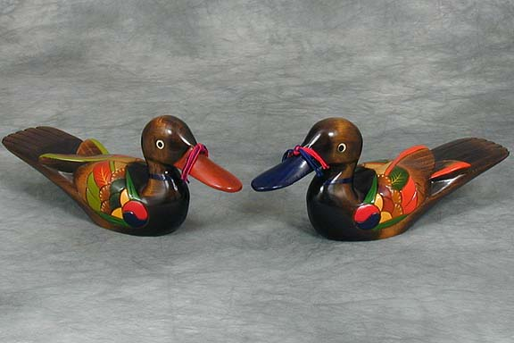 Wood Wedding Duck Sets