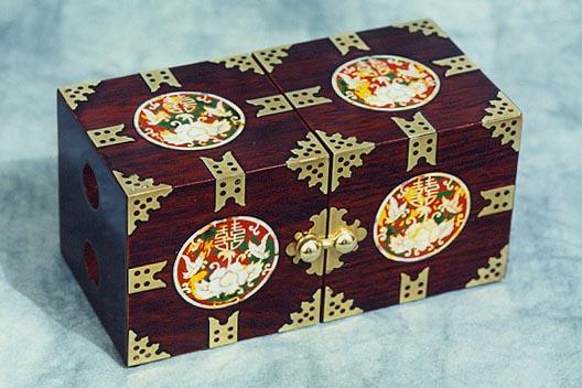 White Swans Jewelry Box