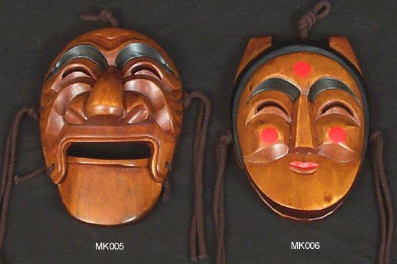 Large Hahoe Masks